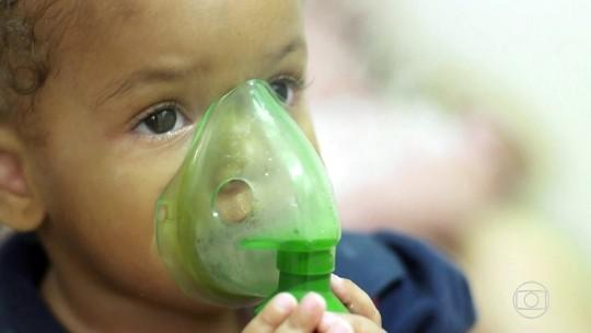 Casos de crise asmática aumentam nesta época do ano; entenda os riscos