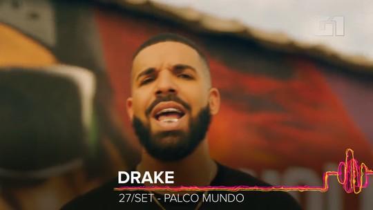 Drake maior que Beatles? Rapper estreia no Rock in Rio (e no Brasil) com cifras altas