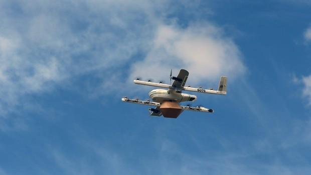 Drones de entrega do projeto Wing (Foto: Reprodução/Facebook/X, the moonshot factory)