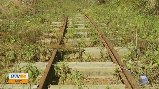 Obras para reativar linha de trem turístico são retomadas em São Sebastião do Rio Verde, MG