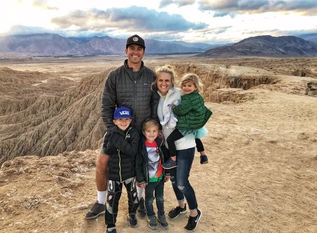 A família viaja pela costa oeste dos Estados Unidos sempre que pode (Foto: Brianne and Sean Walker/ Reprodução)