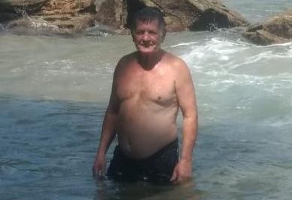 Juscelino Pereira desapareceu durante pescaria em Dois Córregos — Foto: Arquivo pessoal