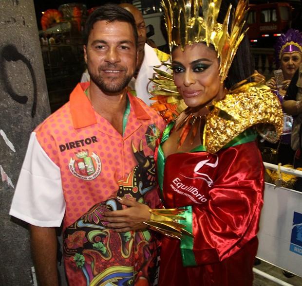 Juliana Paes e Carlos Eduardo Baptista (Foto: Roberto Valverde/ QUEM)