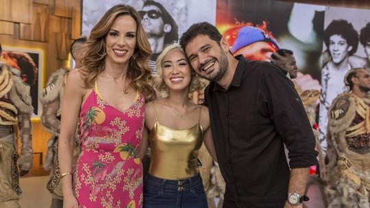 Ana Hikari, primeira protagonista oriental da Globo, diz no 'Encontro' que luta contra o preconceito