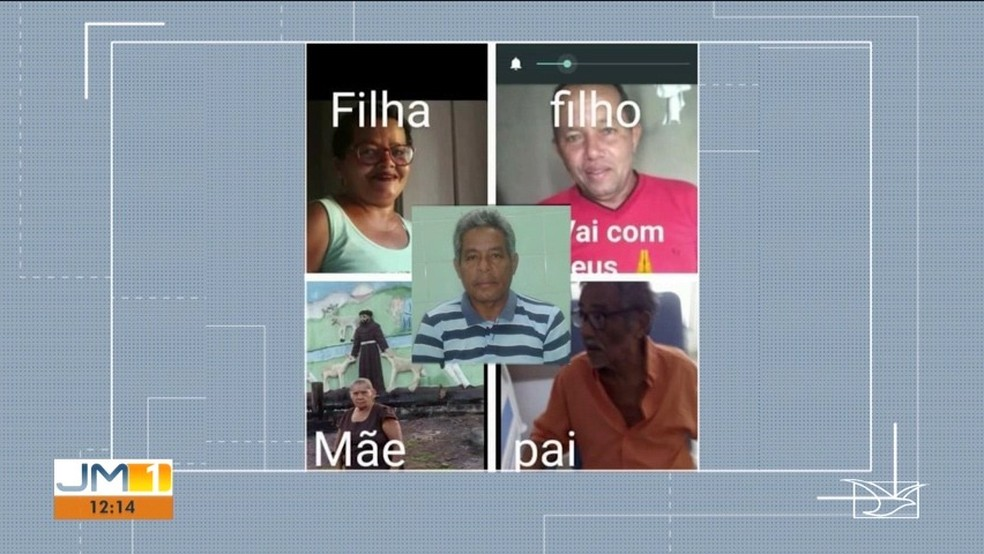 Mãe, pai, dois filhos e tio morrem por decorrência da Covid-19 em Caxias (MA) — Foto: Divulgação/TV Mirante
