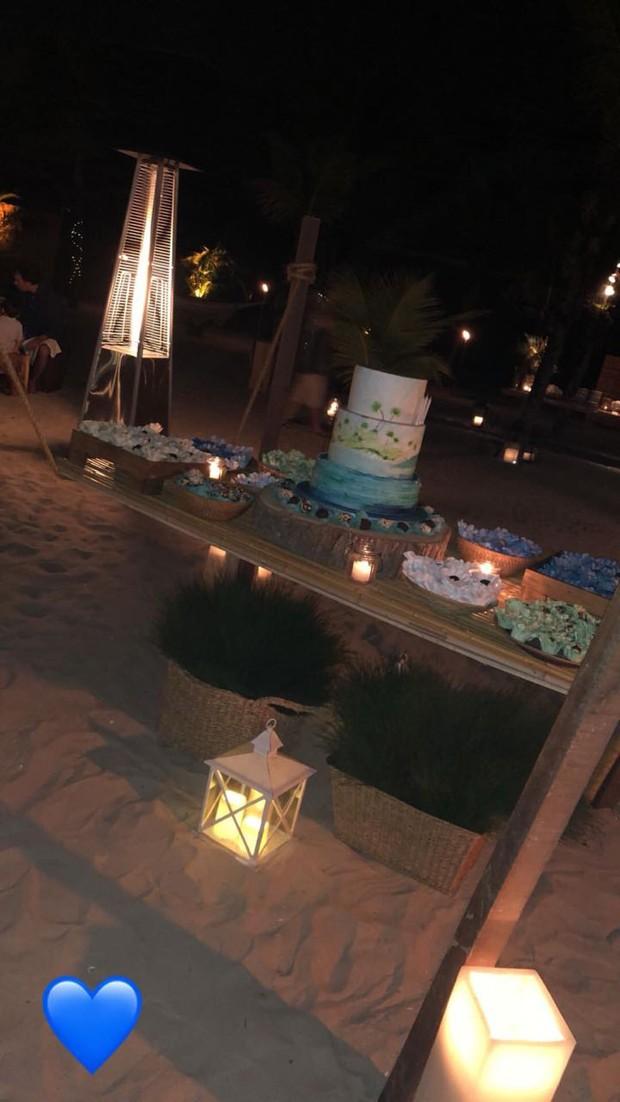 Decoração da festa de Luciano Huck (Foto: Reprodução / Instagram)