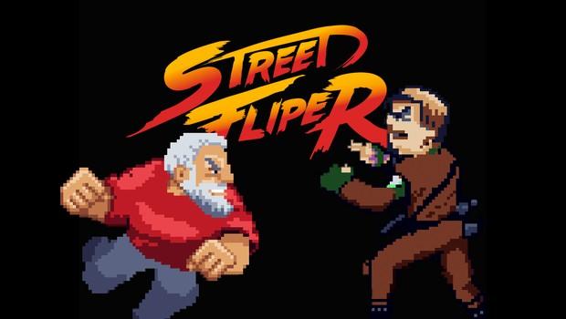 Street Fliper é um jogo estilo arcadia que promove uma luta entre os candidatos à presidência (Foto: Divulgação)