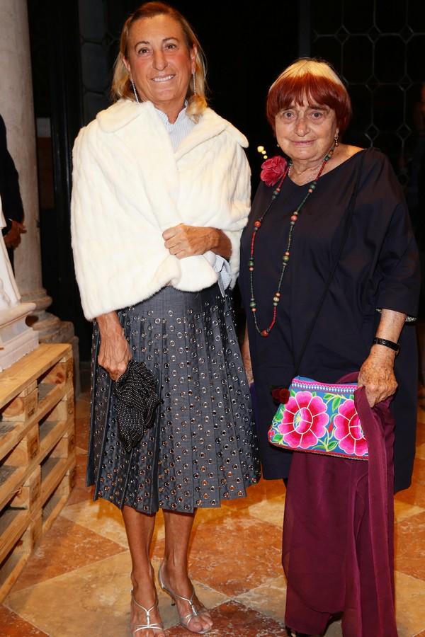 Miuccia Prada e Agnes Varda (Foto: Getty Images)