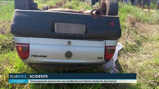 Mulher morre e outra fica ferida em acidente em Santo Antônio do Caiuá, diz polícia
