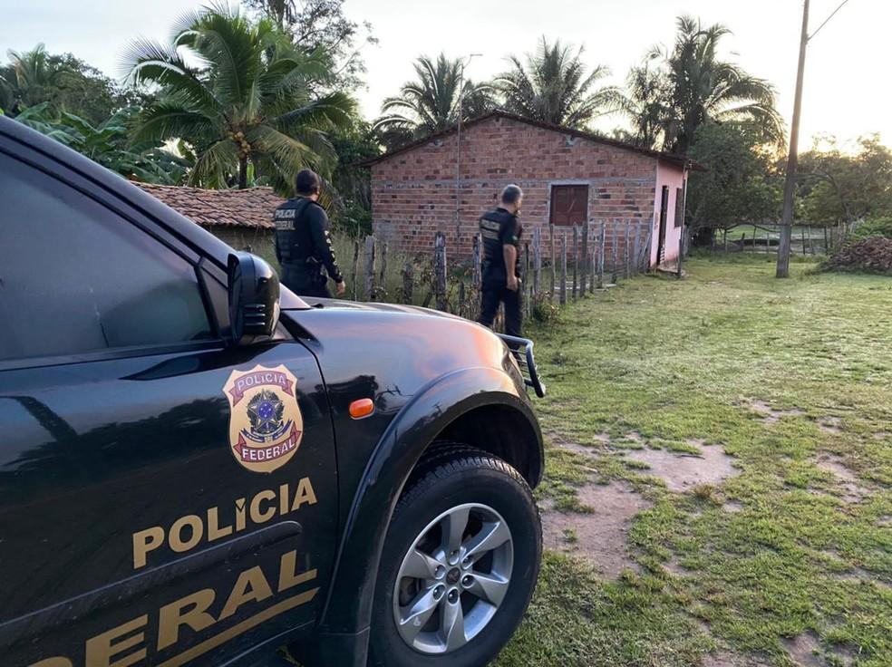 PF deflagra operação de combate ao tráfico de drogas no Maranhão — Foto: Divulgação