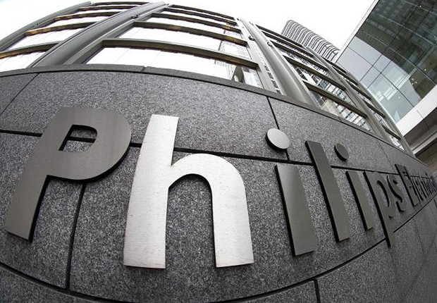 Fachada da sede da Philips , na Holanda (Foto: Getty Images)