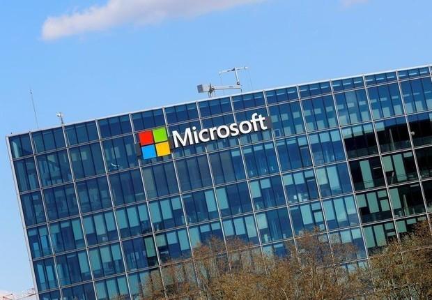 Sede da Microsoft em Paris (Foto: Jacky Naegelen/Reuters)