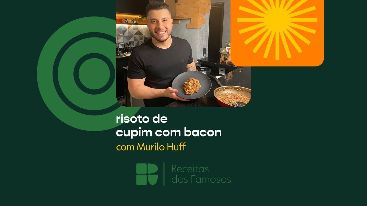 Murilo Huff ensina a fazer Risoto de Cupim com Bacon