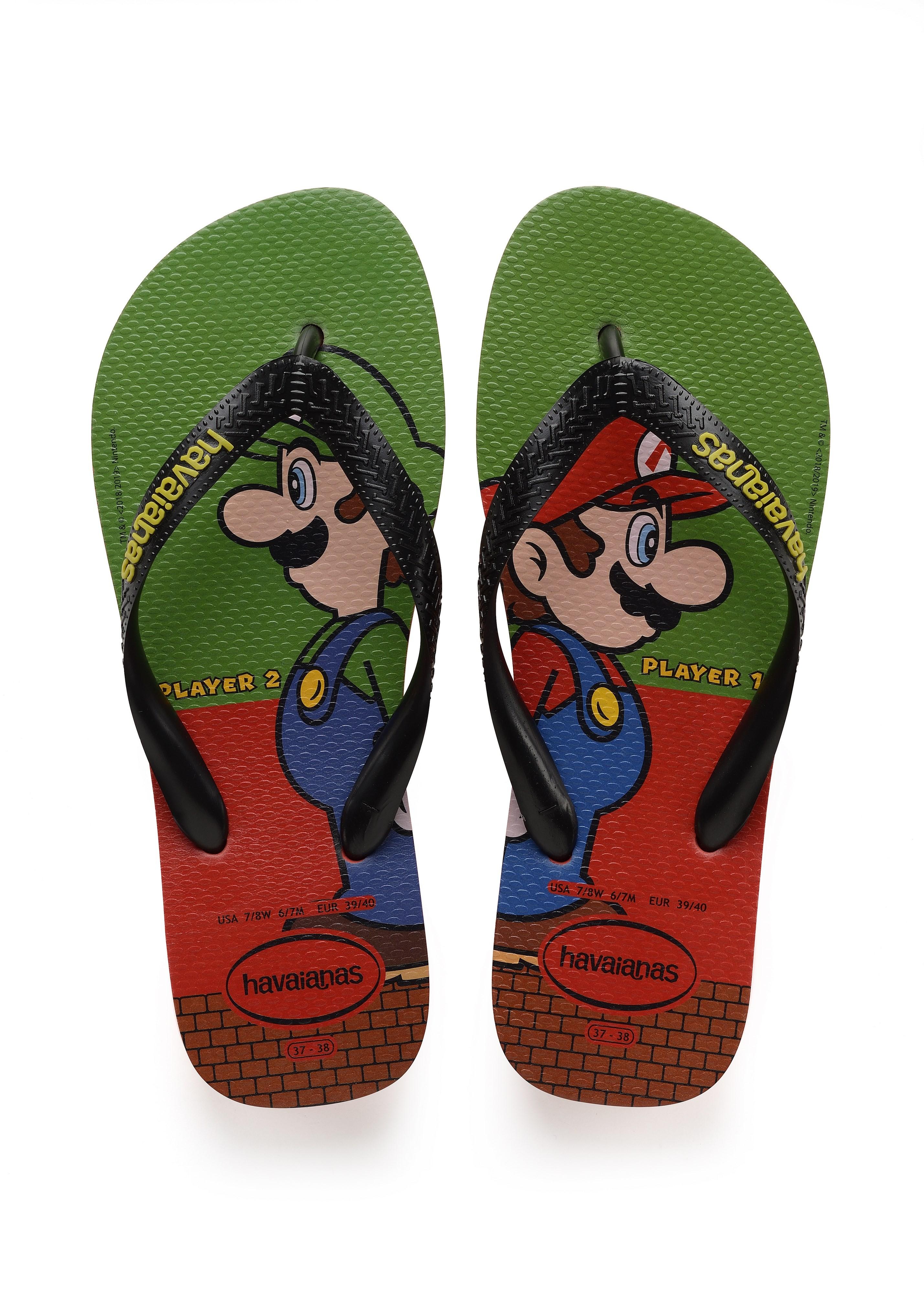 Calçado com Luigi e Mario (Foto: Divulgação)