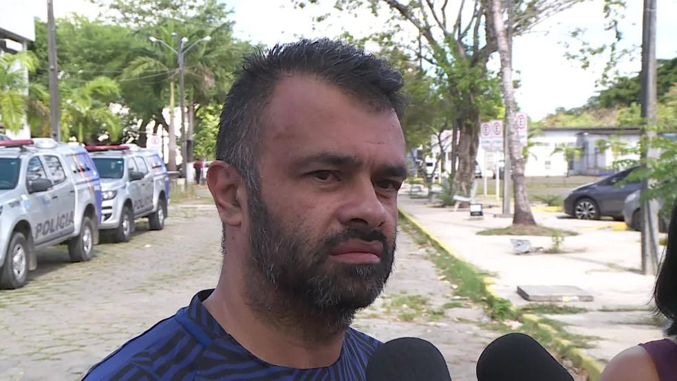 André Antônio , pai de Gennifer, disse que não gostava do gerno, suspeito de cometer o crime — Foto: Reprodução/TV Globo