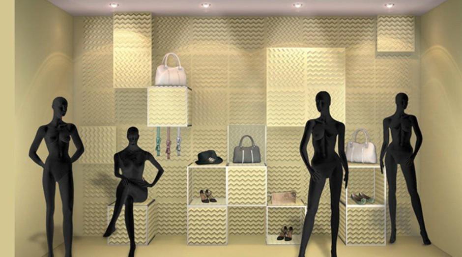 A vitrine reflete a identidade da loja ou da marca e tem como objetivo atrair clientes e convencê-los de que aqueles produtos são fundamentais para a sua vida. (Foto: Divulgação )
