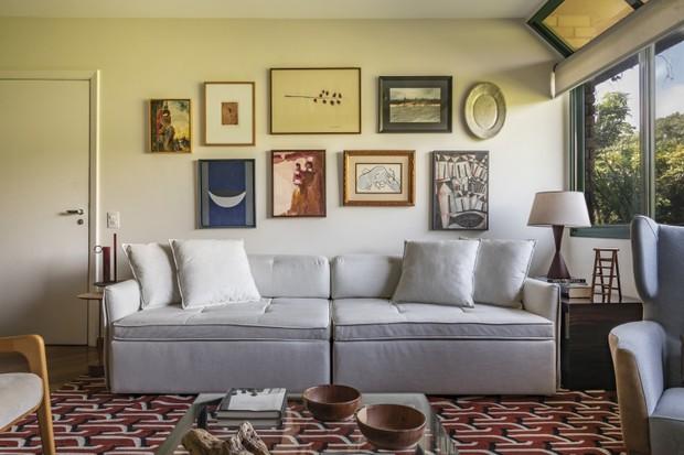 Cobertura tem clima de casa e decoração cheia de personalidade  (Foto: FOTOS 647 ESTUDIO E PUBLICIDADE)