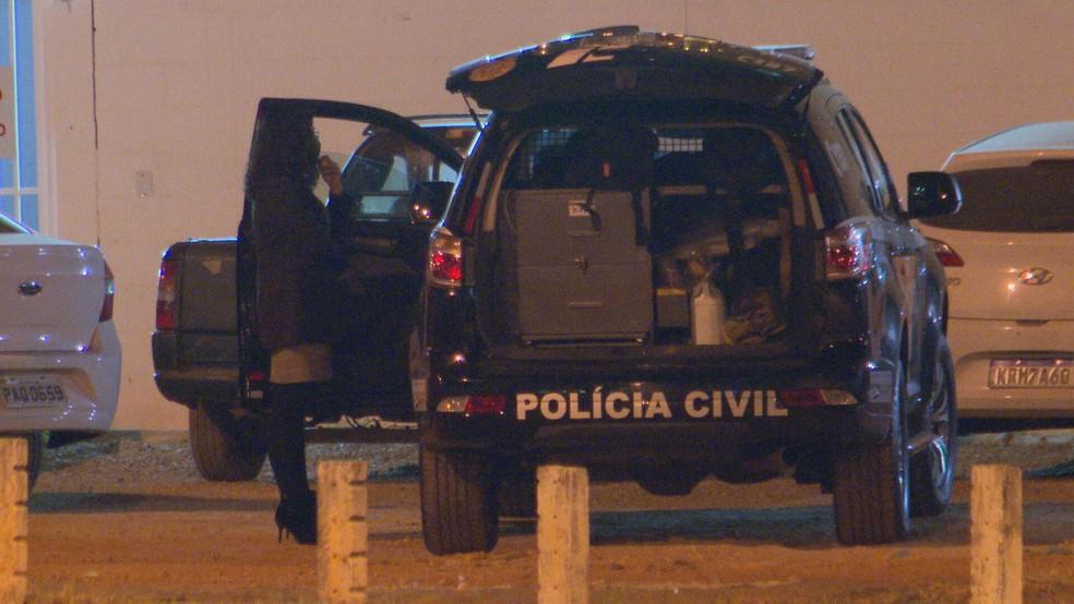 Polícia Civil investiga caso de pai que matou próprio filho, em Ceilândia, no DF — Foto: TV Globo/Reprodução