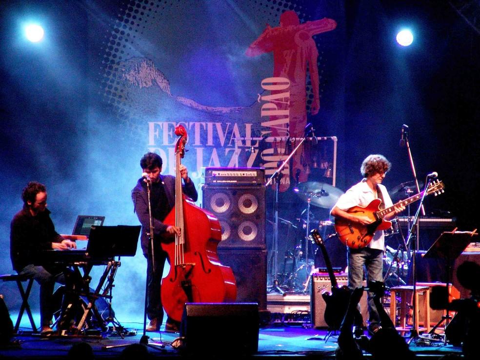 Festival de Jazz do Capão, na Bahia, com Mou Brasil Quarteto — Foto: Divulgação