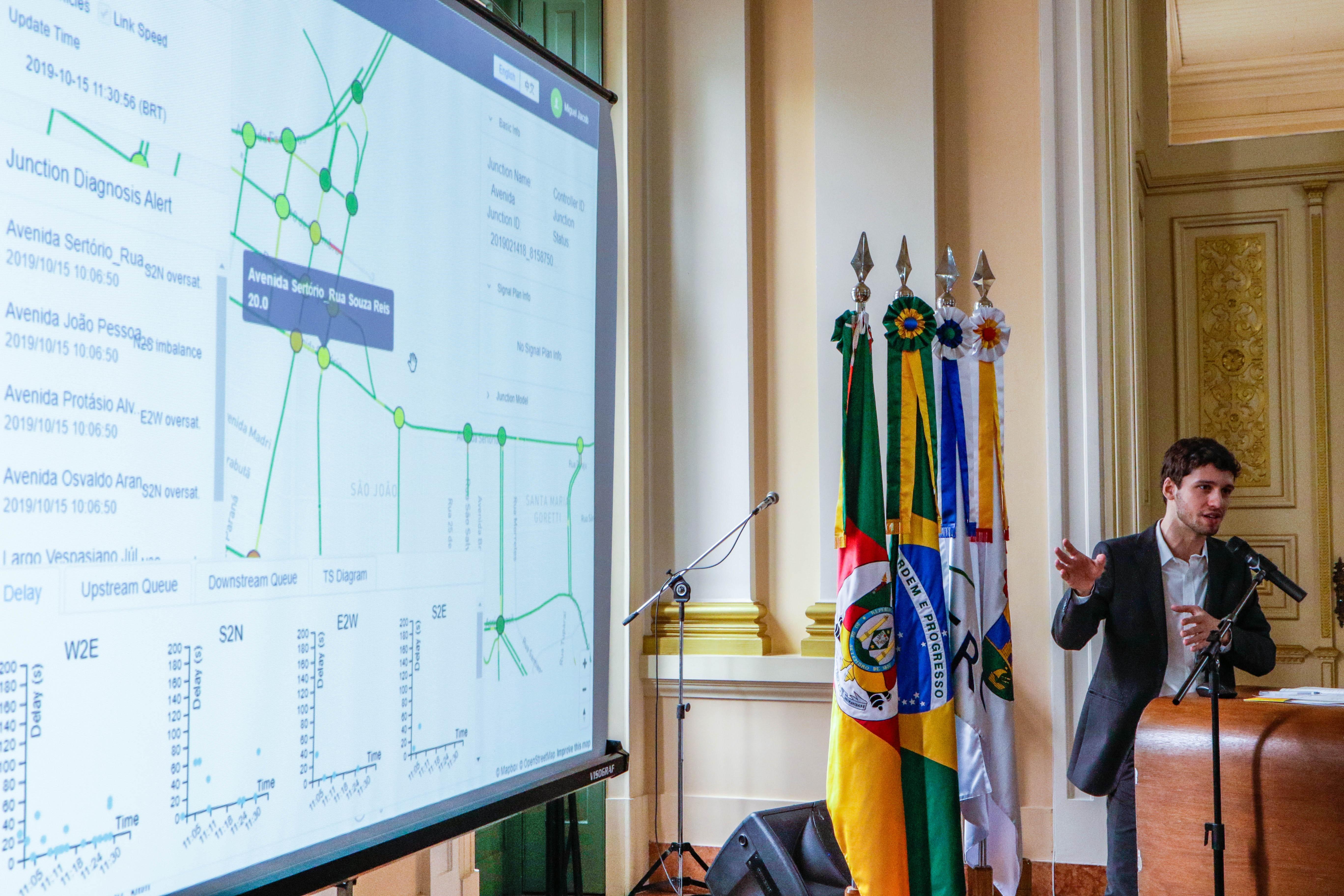 Prefeitura de Porto Alegre apresenta ferramenta que fornece informações em tempo real sobre o trânsito - Notícias - Plantão Diário