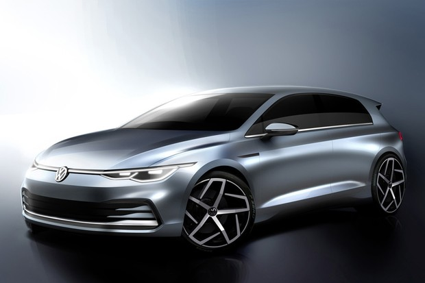 Volkswagen Golf 2020 (Foto: Divulgação)