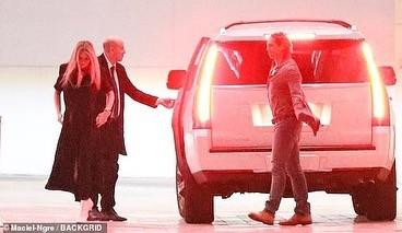 Gwyneth Paltrow e o marido chegando na festa exclusiva de Leonardo DiCaprio (Foto: Reprodução Instagram)