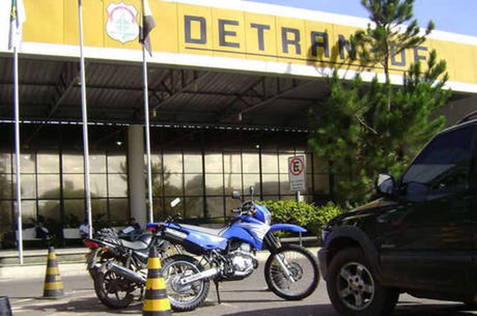 Detran-DF — Foto: Divulgação