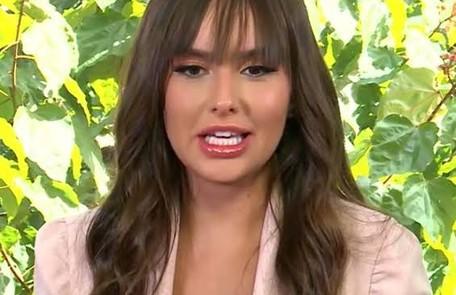 Eliminada recentemente, Thaís afirmou que dará uma pausa na sua carreira de cirurgiã-dentista para investir na fama conquistada nas redes sociais  Reprodução
