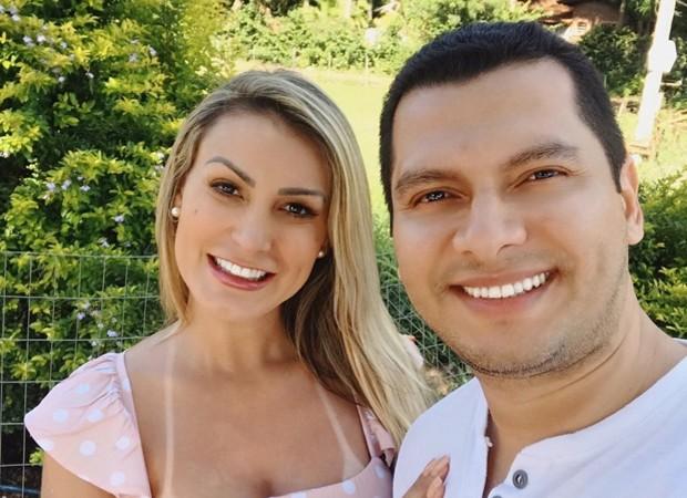 Andressa Urach e Thiago Lopes (Foto: Reprodução Instagram)