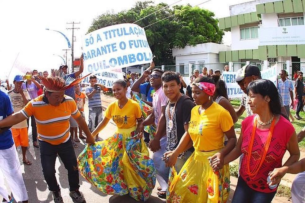 Aliança Indígena-Quilombola se formou em 2012 com o objetivo de incentivar essa articulação e proteção dos territórios frente às ameaças comuns — Foto: Divulgação
