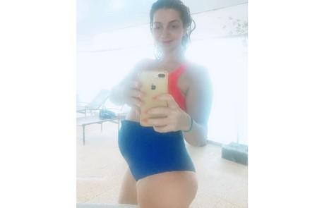 Alessandra Colasanti engravidou aos 45 anos, após desistir de congelar os óvulos Reprodução/Instagram