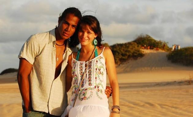 Micael Borges e Bianca Bin (Foto: TV Globo)