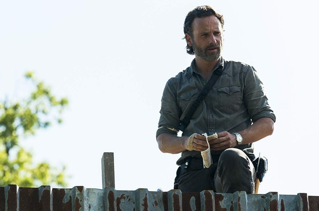 Andrew Lincoln em 'The walking dead' (Foto: Gene Page/AMC)