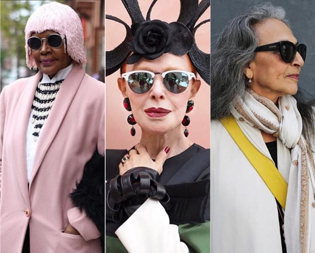 Fotos do perfil Advanced Style: são lindas e inspiradoras! (Foto: Reprodução / Instagram)