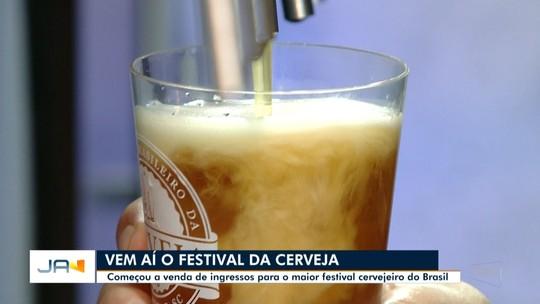 Aberta a venda de ingressos para o Festival Brasileiro da Cerveja de Blumenau