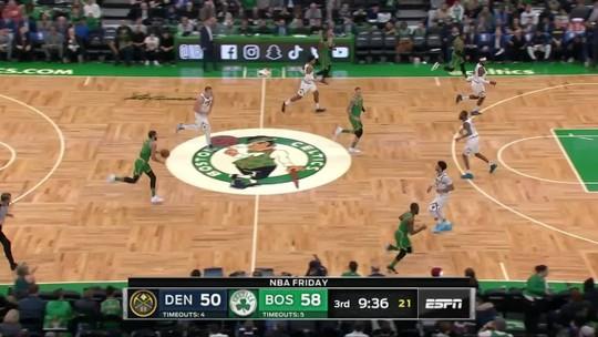 Boston Celtics vence o Denver Nuggets com facilidade em disputa dos vice-líderes