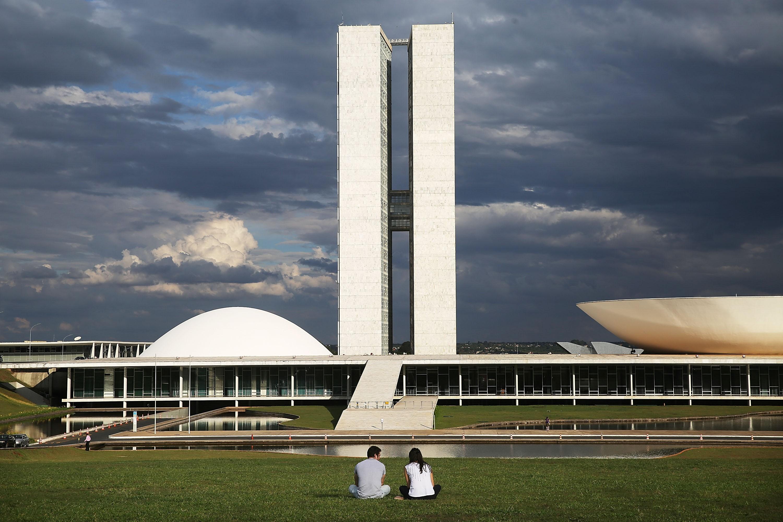 Imagem de Brasília, cuja construção é tema da nova minissérie do History (Foto: Getty)