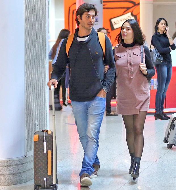 Isis Valverde e André Resende (Foto: AgNews)