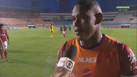 Aplaudido, Alan Mineiro destaca participação da torcida e confiança no acesso do Vila Nova