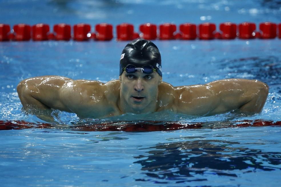 O nadador Nicholas Santos, campeão mundial em 2018 — Foto: Satiro Sodré/SSPress/CBDA