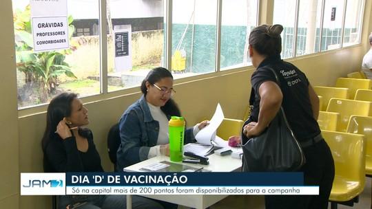 97fb8bdd4d4 Manaus tem  Dia D  de vacinação contra Influenza neste sábado ...