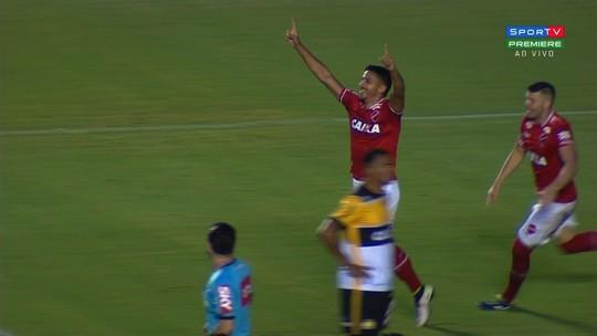 Gol do Vila Nova! Geovane marca gol relâmpago contra o Criciúma!