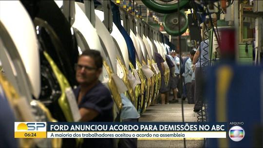 Ford anuncia acordo para demissões no ABC
