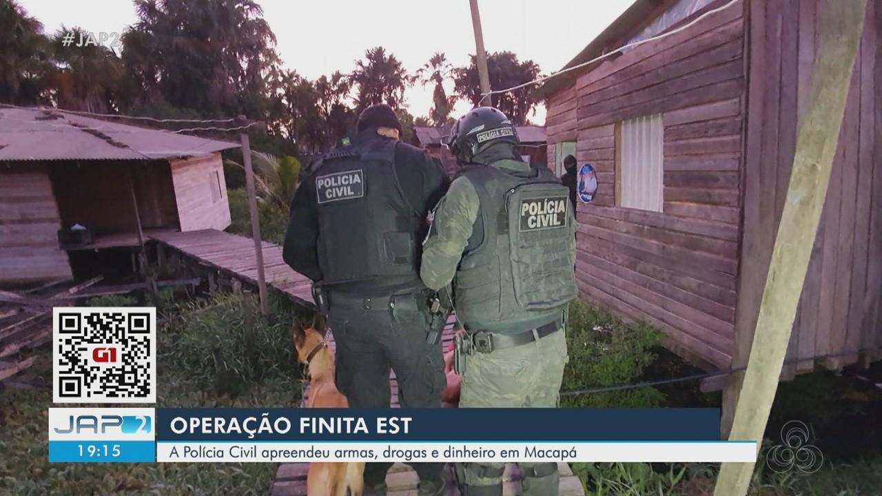 Operação prende suspeitos de integrar organizações criminosas