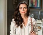 Letícia Persiles como a terapeuta Letícia em 'Espelho da vida' | Victor Pollak/TV Globo