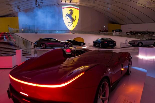 Museu da Ferrari Modena (Foto: Divulgação)