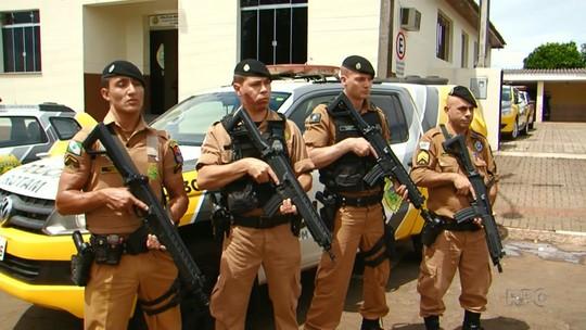 Comunidade se une e faz 'vaquinha' para comprar fuzis para PM em Pitanga
