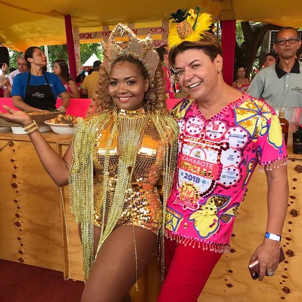 Gaby Amarantos e David Brazil (Foto: Divulgação)