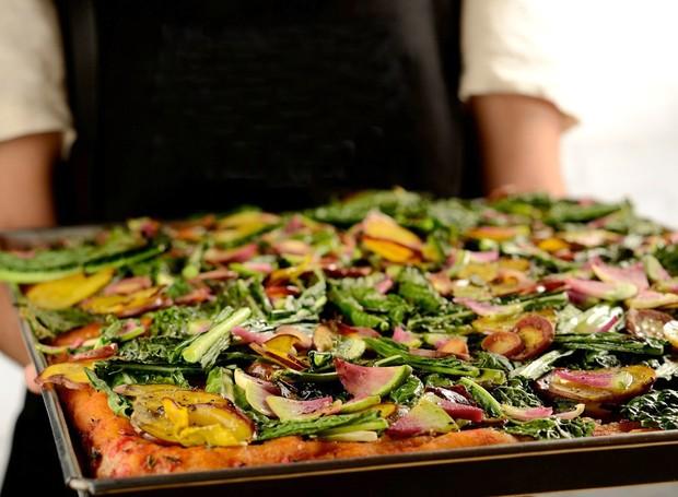 Pizza Vegana, do Da Mooca Pizza Shop (Foto: Divulgação )