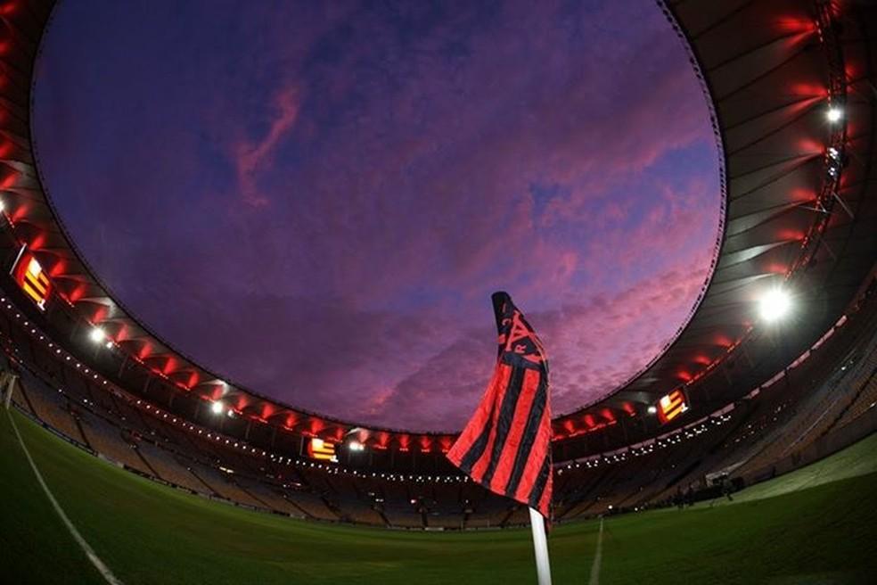 Fla quer Maracanã por quatro anos (Foto: André Durão/GloboEsporte.com)